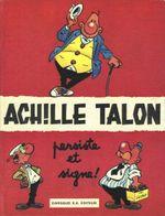 Couverture Achille Talon persiste et signe ! - Achille Talon, tome 3