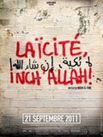 Affiche Laïcité Inch'Allah !