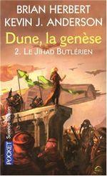 Couverture Le Jihad Butlérien - Dune : La Genèse, tome 2
