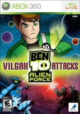 Jaquette Ben 10 : Alien Force - Vilgax Attacks