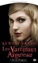 Couverture En-cas d'urgence - Les Vampires Argeneau, tome 1