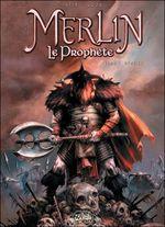 Couverture Hengist - Merlin le prophète, tome 1