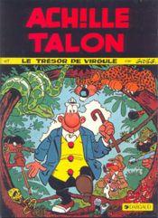 Couverture Le Trésor de Virgule - Achille Talon, tome 16