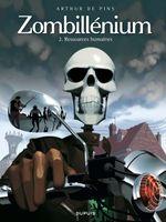Couverture Ressources humaines - Zombillénium, tome 2