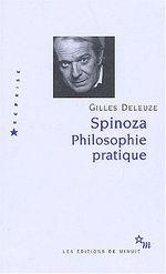Couverture Spinoza : Philosophie pratique
