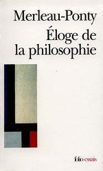 Couverture Éloge de la philosophie