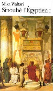 Couverture Sinouhé l'Égyptien