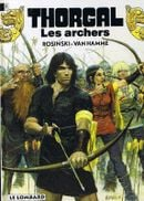 Couverture Les Archers - Thorgal, tome 9