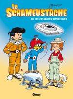Couverture Les Passagers clandestins - Le Scrameustache, tome 40