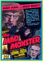 Affiche The Mad Monster