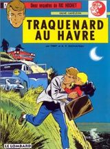 Couverture Traquenard au Havre - Ric Hochet, tome 1