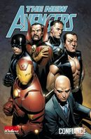 Couverture Confiance - The New Avengers, tome 4