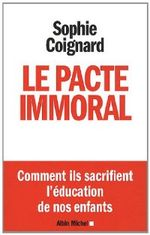 Couverture Le pacte immoral