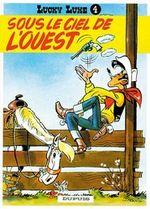 Couverture Sous le ciel de l'Ouest - Lucky Luke, tome 4