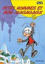 Couverture Petits Hommes et mini-gagagags - Les Petits hommes, tome 25