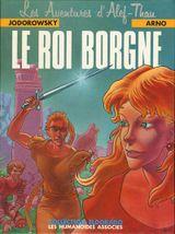Couverture Le Roi borgne -  Alef-Thau, tome 3