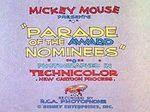Affiche Parade of the Award Nominees