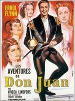 Affiche Les aventures de don Juan