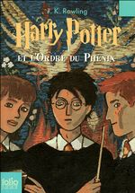 Couverture Harry Potter et l'Ordre du phénix - Harry Potter, tome 5