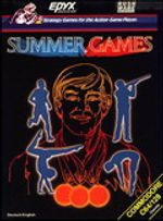 Jaquette Summer Games