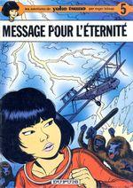 Couverture Message pour l'éternité - Yoko Tsuno, tome 5