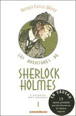 Couverture Les Aventures de Sherlock Holmes - 1