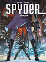 Couverture Old School - Spyder, tome 3
