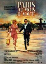Affiche Paris au mois d'août