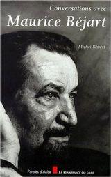 Couverture Conversations avec Maurice Béjart