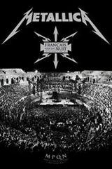 Affiche Metallica - Français pour une nuit