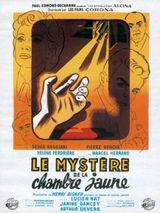 Affiche Le Mystère de la chambre jaune