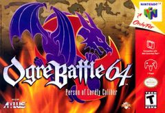 Jaquette Ogre Battle 64 : Person of Lordly Caliber