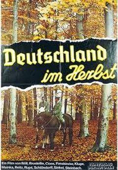 Affiche L'Allemagne en automne