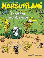 Couverture Le Bébé du bout du monde - Marsupilami, tome 2