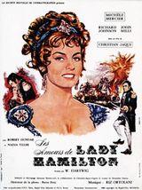 Affiche Les Amours de Lady Hamilton