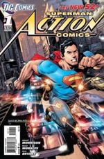 Couverture Action Comics (2011 - Present)