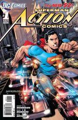 Couverture Action Comics (2011 - 2016)