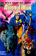 Couverture Animal Man - Animal Man, tome 1