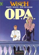 Couverture O.P.A. - Largo Winch, tome 3