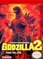 Jaquette Godzilla 2 : War of the Monsters