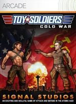 Jaquette Toy Soldiers : Cold War