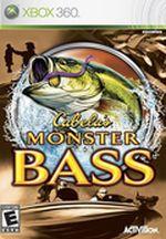 Jaquette Cabela's Monster Bass