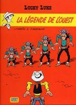 Couverture La Légende de l'ouest - Lucky Luke, tome 70