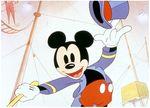 Affiche Le Cirque de Mickey
