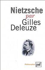 Couverture Nietzsche par Gilles Deleuze