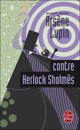 Couverture Arsène Lupin contre Herlock Sholmès