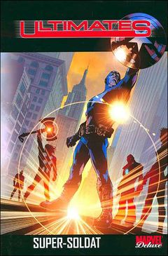 Couverture Super Soldat - Ultimates (Marvel Deluxe), tome 1