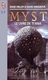Couverture Le Livre de Ti'ana - Myst, tome 2