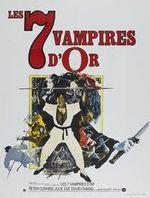 Affiche Les Sept Vampires d'or
