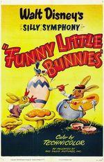 Affiche Les petits lapins joyeux